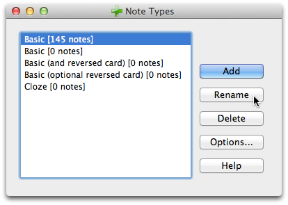 how to to delete the default deck anki